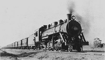 BHP Whyalla Steam Locomotives